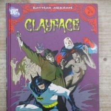 Cómics: BATMAN ARKHAM : CLAYFACE - Nº 9 - D.C. COMICS / PLANETA DEAGOSTINI. Lote 147693742