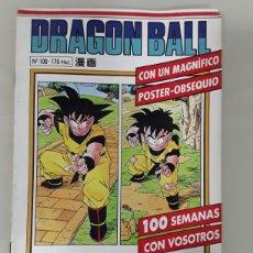 Cómics: DRAGON BALL SERIE BLANCA N°100 - PLANETA AGOSTINI - AKIRA TORIYAMA SIN POSTER. Lote 221512132