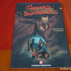 Cómics: TIERRAS SOMBRIAS Nº 1 ( GIBELIN SPRINGER ) OJOS DE PIEDRA ¡MUY BUEN ESTADO! COLECCION EUROPA . Lote 149206370
