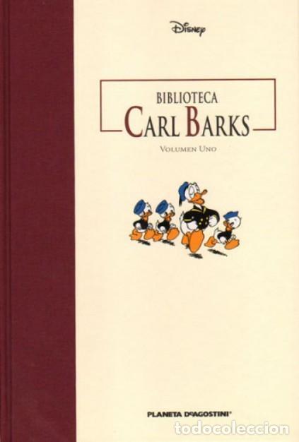 BIBLIOTECA CARL BARKS VOL. 1 - PLANETA - CARTONE - MUY BUEN ESTADO - OFI15T (Tebeos y Comics - Planeta)