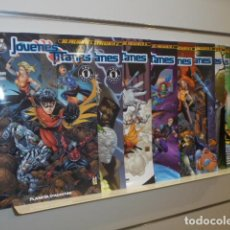 Cómics: DC PRESENTA JOVENES TITANES COMPLETA 10 NUMEROS - PLANETA OFERTA. Lote 177603332