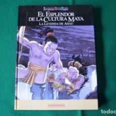 Cómics: EL ESPLENDOR DE LA CULTURA MAYA - LA LEYENDA DE AHAU - PLANETA -AGOSTINI - QUINTO CENTENARIO - 1992. Lote 149519570