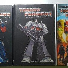 Cómics: TRANSFORMERS COMICS - CLÁSICOS USA VOL. 1 Y 2 Y CLÁSICOS UK - PLANETA - NUEVOS SIN USO. Lote 149886062