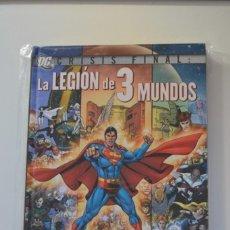 Cómics: CRISIS FINAL: LA LEGIÓN DE 3 MUNDOS - PLANETA - GEOFF JOHNS . OFERTA TEMPORAL. Lote 150169050