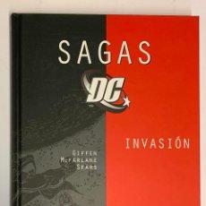 Cómics: INVASIÓN , SAGAS DC 04 DE PLANETA DEAGOSTINI. Lote 171492588