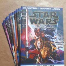 Cómics: STAR WARS 1 A 11 SAGA COMPLETA - EDICIÓN LIMITADA - EPISODIOS I A VI - PLANETA - JMV. Lote 150377398