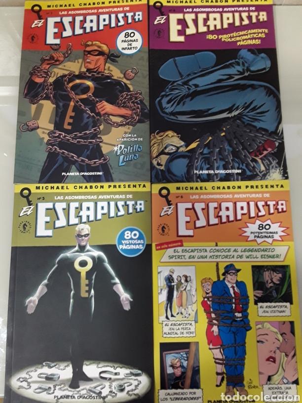LOTE 4 COMIC LAS ASOMBROSAS AVENTURAS DE ESCAPISTA N° 1, 4, 5, 6 ( AGOTADO EN TODOCOLECCION) (Tebeos y Comics - Planeta)