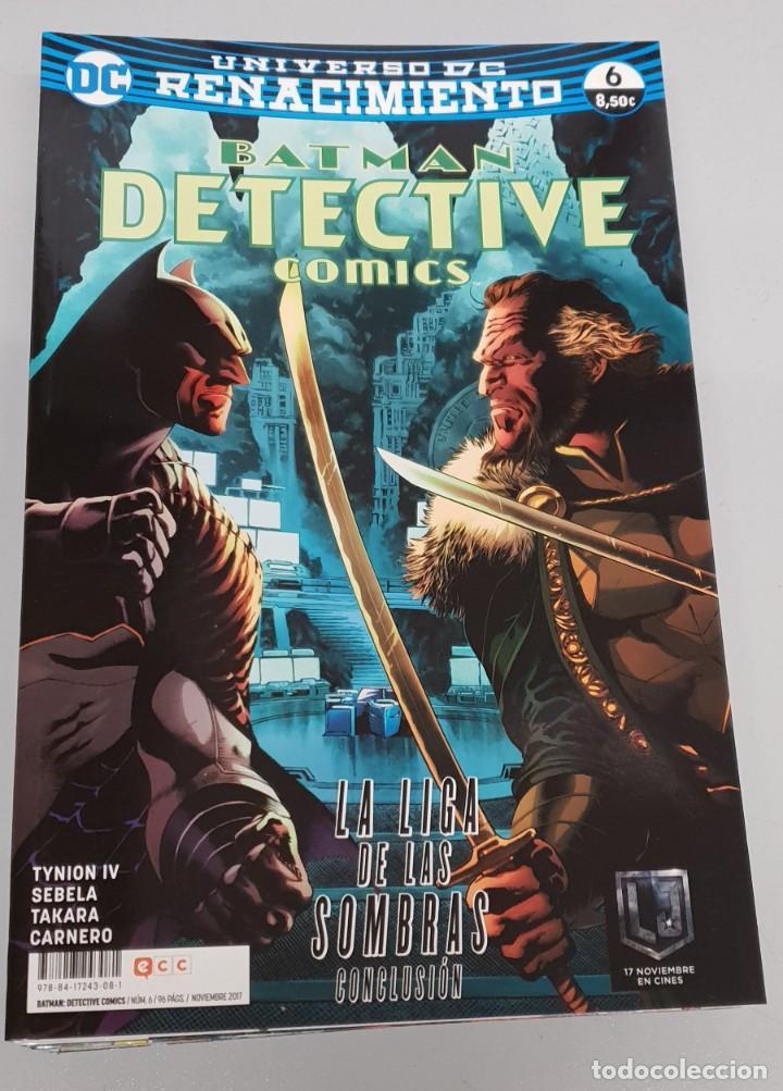 Batman Detective Comics Nº 6 Renacimiento La Liga De Las Sombras Conclusion Dc Ecc