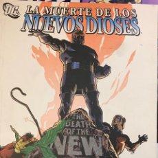 Cómics: LA MUERTE DE LOS NUEVOS DIOSES DE JIM STARLIN PLANETA DEAGOSTINI , NUEVO. Lote 194295315