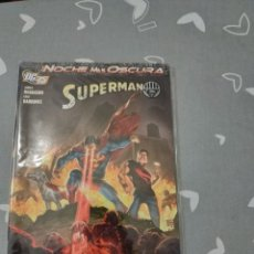 Cómics: LA NOCHE MAS OSCURA SUPERMAN PLANETA. Lote 151588670