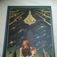 Cómics: LOS 3 FANTASMAS DE TESLA-TOMO 1-PLANETA. Lote 151655904