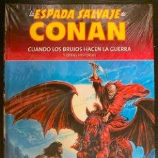 Cómics: LA ESPADA SALVAJE DE CONAN COLECCIONABLE Nº 79 NUEVO. Lote 152036118