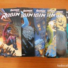 Cómics: ROBIN - BATMAN PRESENTA - COMPLETA - NUMEROS 1 A 6 - DC - PLANETA (FY). Lote 152284622