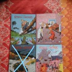 Cómics: SPIROU Y FANTASIO 1, 2 Y 4. INTEGRALES, PLANETA 2002. IMPECABLES. . Lote 152517622