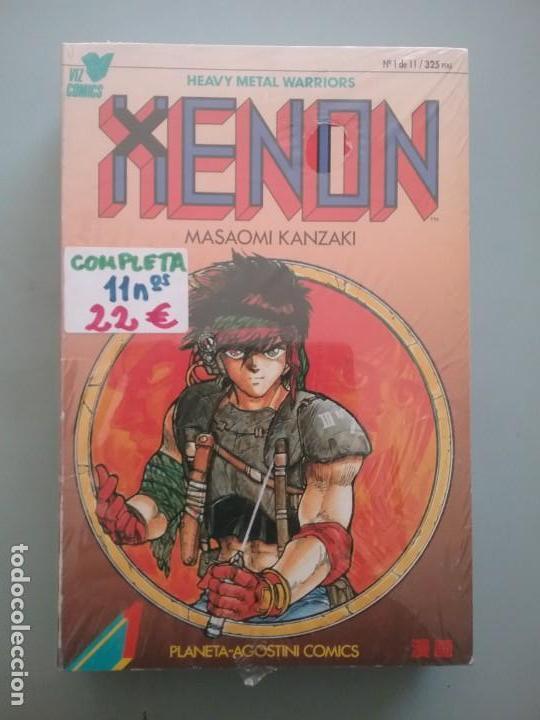HEAVY METAL WARRIOR XENON COLECCIÓN COMPLETA# (Tebeos y Comics - Planeta)