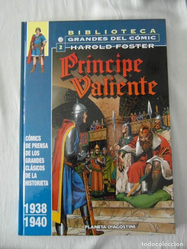 PRINCIPE VALIENTE 2. HAROLD FOSTER. 1938-1940. PLANETA (Tebeos y Comics - Planeta)