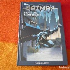 Cómics: BATMAN LA COLECCION 30 RESTOS MORTALES ( DIXON NOLAN ) ¡MUY BUEN ESTADO! PLANETA DC TAPA DURA. Lote 153430814