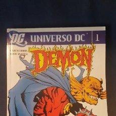 Cómics: UNIVERSO DC: DEMON - TOMO 1 - PLANETA - DESCUENTO 20%¡¡¡. Lote 153521406