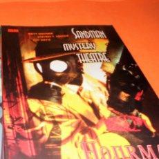 Cómics: SANDMAN MYSTERY THEATRE. HOURMAN.RUSTICA MUY BUEN ESTADO. Nº 29-32 . Lote 153622842