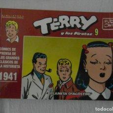 Cómics: TERRY Y LOS PIRATAS 9. 1941. PLANETA. PERFECTO ESTADO. Lote 153875650