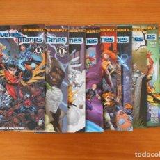 Cómics: JOVENES TITANES COMPLETA - 10 NUMEROS - DC PRESENTA - PLANETA (BK). Lote 154271658