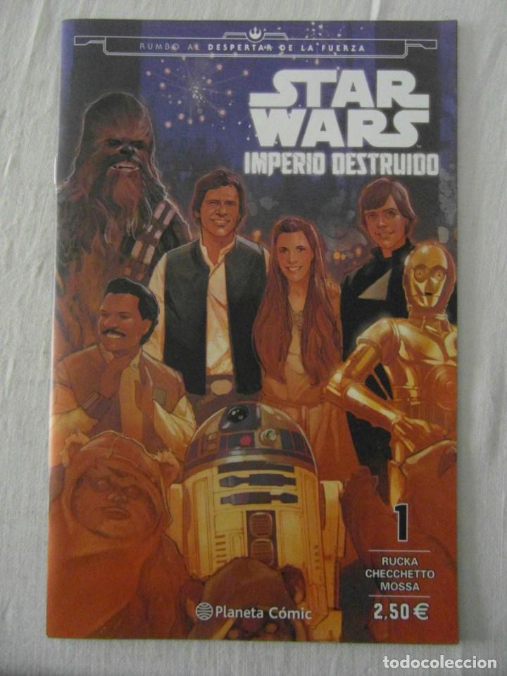 STAR WARS IMPERIO DESTRUIDO 1. PLANETA. PERFECTO ESTADO (Tebeos y Comics - Planeta)