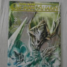 Comics: STAR WARS. OBI-WAN & ANAKIN 3 DE 5. PLANETA. NUEVO. Lote 154367270