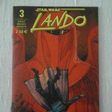 Comics: STAR WARS LANDO 3 PLANETA. NUEVO. Lote 154368854
