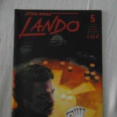 Comics: STAR WARS. LANDO 5. PLANETA. NUEVO. Lote 154369570