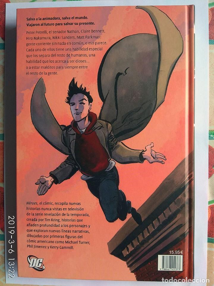 Cómics: Lote 2 cómics: Héroes, Primera Temporada + Terminal City (línea Vertigo) - Foto 4 - 154389398