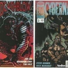 Cómics: DEATHBLOW VOL 1 #3 JIM LEE / CYBERNARI MUY BUEN ESTADO. Lote 154474558