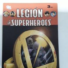 Cómics: LEGION DE SUPERHEROES 3 DE 4.ED PLANETA. Lote 154565582