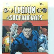 Cómics: LEGION DE SUPERHEROES 2 DE 4.ED PLANETA. Lote 154565641