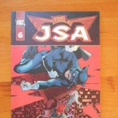 Cómics: JSA VOLUMEN 1 TOMO Nº 6 - DC - PLANETA (EZ). Lote 154781290