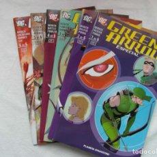 Comics : GREEN ARROW ESPECIAL. COLECCION COMPLETA DE 6 COMICS. PLANETA. (NUEVOS). Lote 215870211