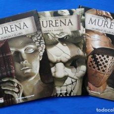 Comics : LOTE 3 TOMOS DE MURENA: 1 PÚRPURA Y ORO, 2 ARENA Y SANGRE & 3 LA MEJOR DE LAS MADRES. DUFAUX, DELABY. Lote 155003150