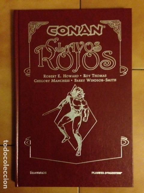 CONAN EDICION ABSOLUTE CLAVOS ROJOS - HOWARD ROY THOMAS BARRY WINDSOR-SMITH - PLANETA - TIMUN MAS (Tebeos y Comics - Planeta)
