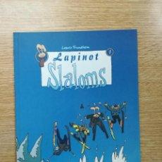 Cómics: LAPINOT #1 SLALOMS. Lote 155624925