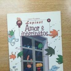 Cómics: LAPINOT #4 AMOR E INTERINATOS. Lote 155624937