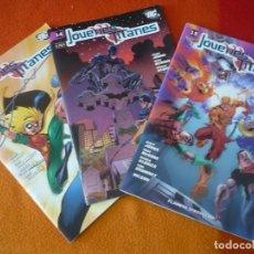 Cómics: JOVENES TITANES NºS 13, 14 Y 15 ( GEOFF JOHNS GRUMMETT ) ¡MUY BUEN ESTADO! PLANETA DC. Lote 155657034