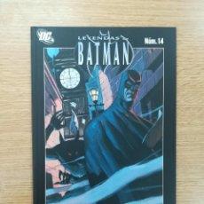 Cómics: LEYENDAS DE BATMAN #14 HOMBRE LOBO. Lote 155939817