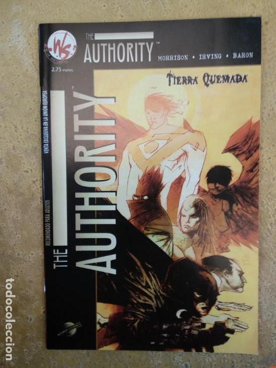 THE AUTHORITY TIERRA QUEMADA (Tebeos y Comics - Planeta)