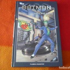 Cómics: BATMAN LA COLECCION 21 SECRETOS ( KIETH BEDARD ) ¡MUY BUEN ESTADO! PLANETA DC TAPA DURA. Lote 156189090