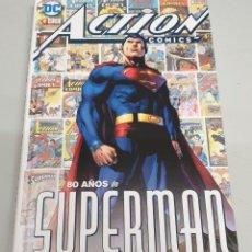 Cómics: ACTION COMICS : 80 AÑOS DE SUPERMAN / DC - ECC. Lote 156290626