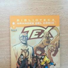Comics : TEX #5 (BIBLIOTECA GRANDES DEL COMIC). Lote 157241032