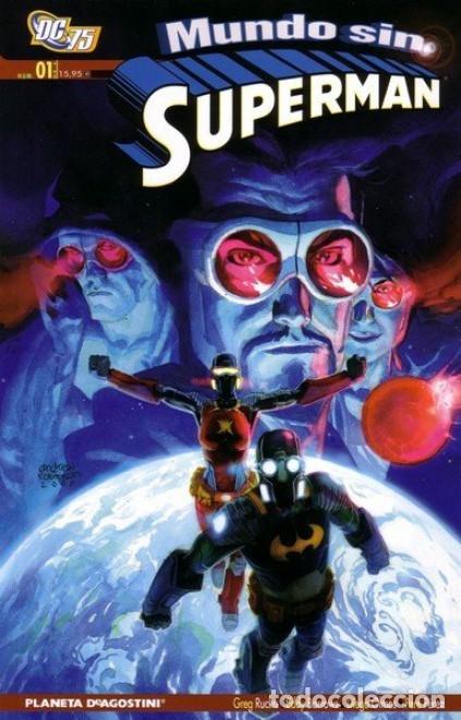 MUNDO SIN SUPERMAN Nº 1 - PLANETA - MUY BUEN ESTADO - OFI15T (Tebeos y Comics - Planeta)