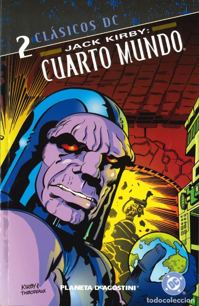 CUARTO MUNDO (CLÁSICOS DC) - PLANETA-DEAGOSTINI / NÚMERO 2 (JACK KIRBY)