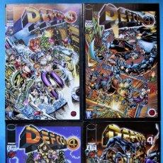 Cómics - DEFCON 4 - 1, 2, 3 Y 4 (COMPLETA) (JEFF MARIOTTE) ''MUY BUEN ESTADO'' PLANETA (VER 8 FOTOS) - 157989858