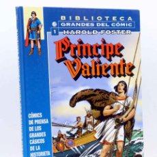 Cómics: BIBLIOTECA GRANDES DEL COMIC. EL PRINCIPE VALIENTE 1. 1937-1938 (HAROLD FOSTER) PLANETA, 2006. Lote 158416294