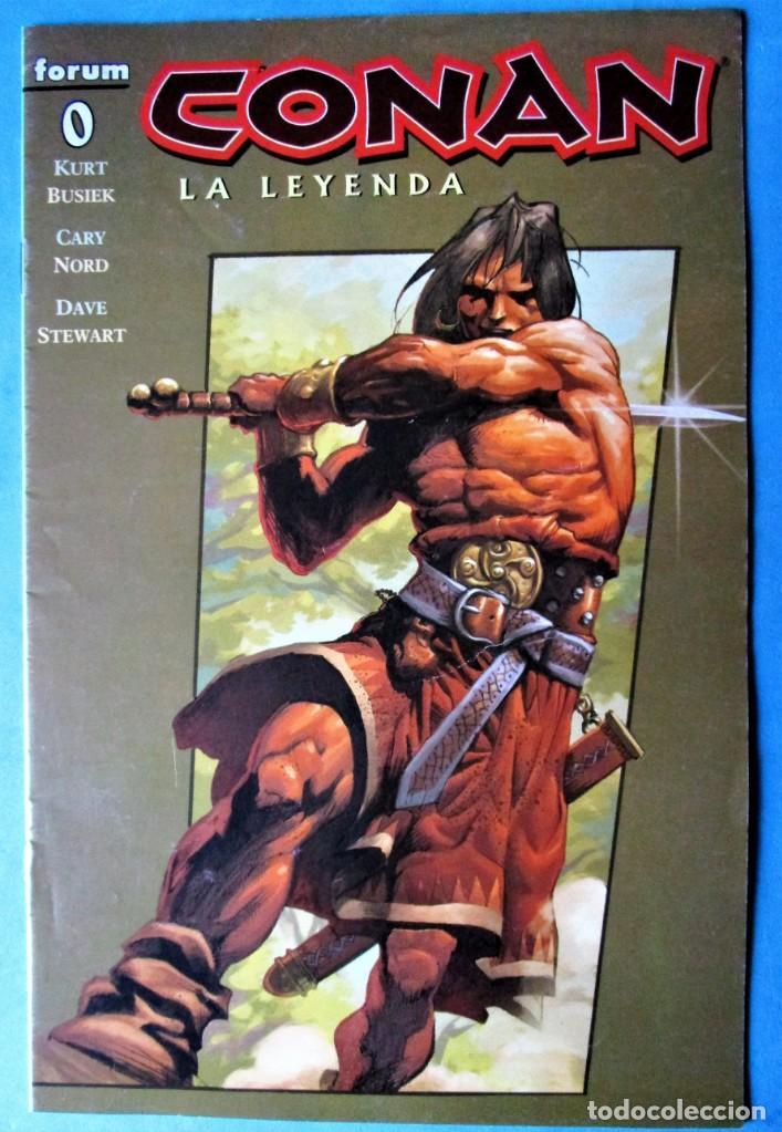 CONAN LA LEYENDA Nº 0 - PLANETA 2005 ''BUEN ESTADO'' (Tebeos y Comics - Planeta)